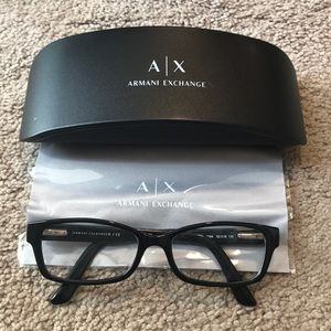 Rx Armani exchange glasses